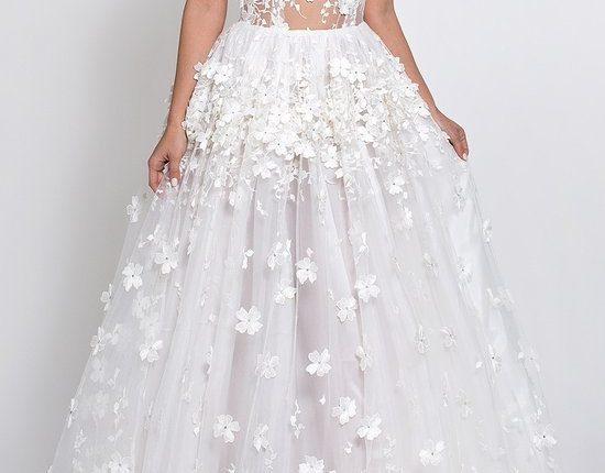Lurelly bohemian wedding dress FLORENCE