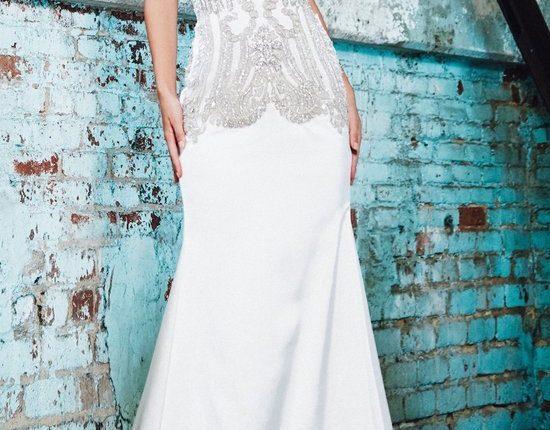 Lurelly bohemian wedding dress alexandra