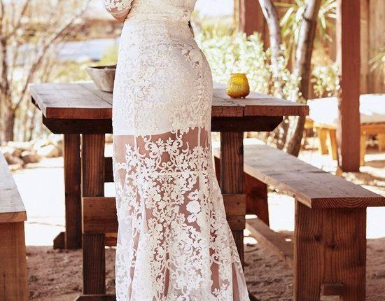 Lurelly bohemian wedding dress buttercup2