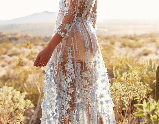 Lurelly bohemian wedding dress dahlia