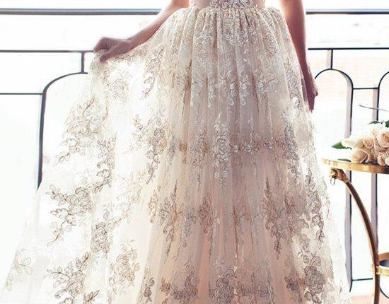 Lurelly bohemian wedding dress doree
