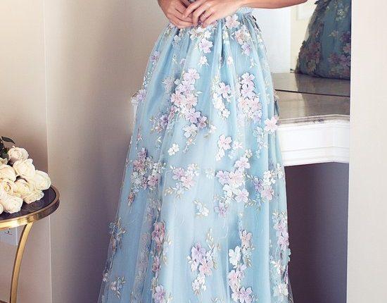 Lurelly bohemian wedding dress fleur