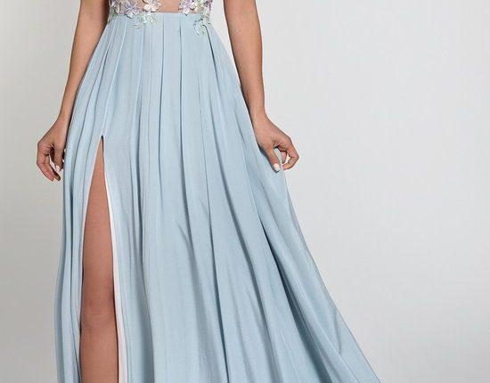 Lurelly bohemian wedding dress lilac2