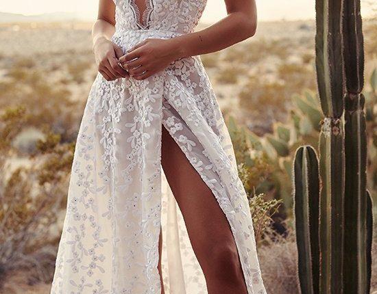 Lurelly bohemian wedding dress magnolia