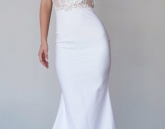 Lurelly bohemian wedding dress rose
