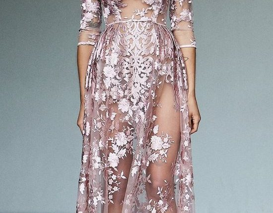 Lurelly bohemian wedding dress sheer-embroidered2