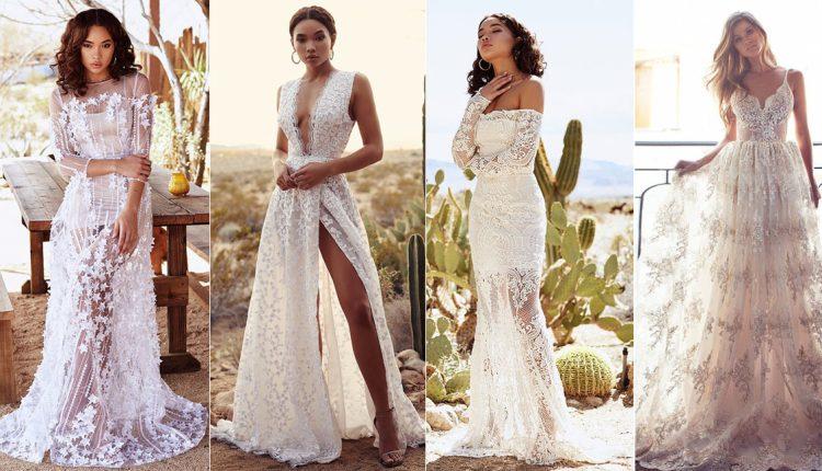 Lurelly bohemian wedding dresses