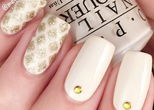 Melcisme Wedding Nail Art Ideas 1