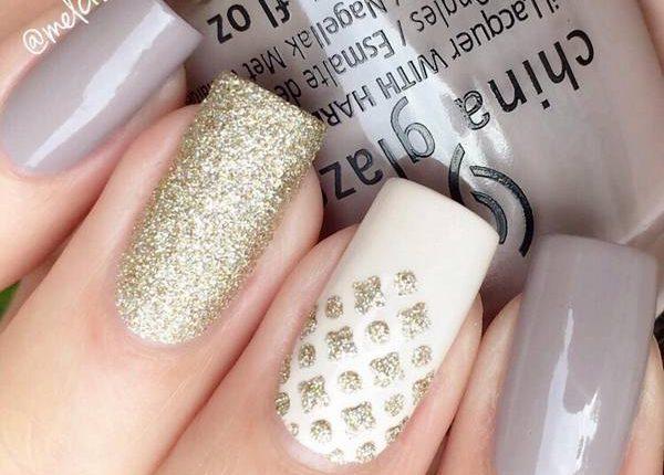 Melcisme Wedding Nail Art Ideas 16