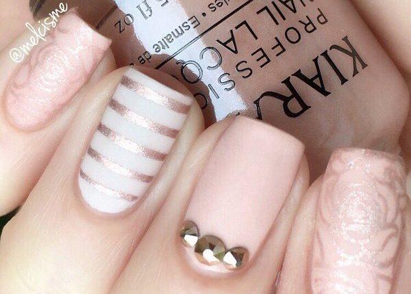 Melcisme Wedding Nail Art Ideas 17