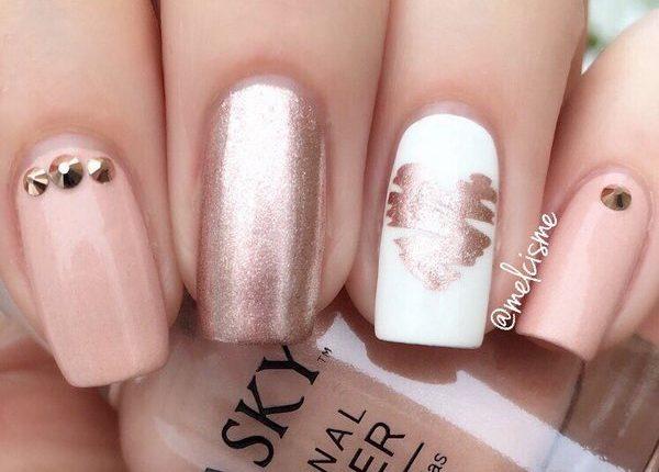 Melcisme Wedding Nail Art Ideas 3