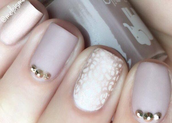 Melcisme Wedding Nail Art Ideas 7