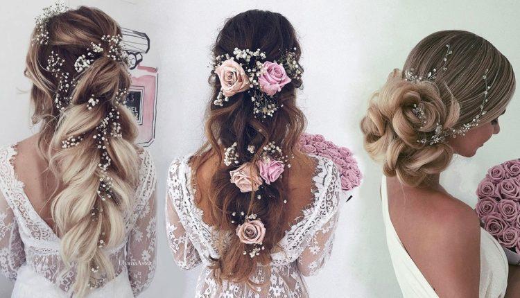 Ulyana Aster Long Wedding Hairstyles Updos