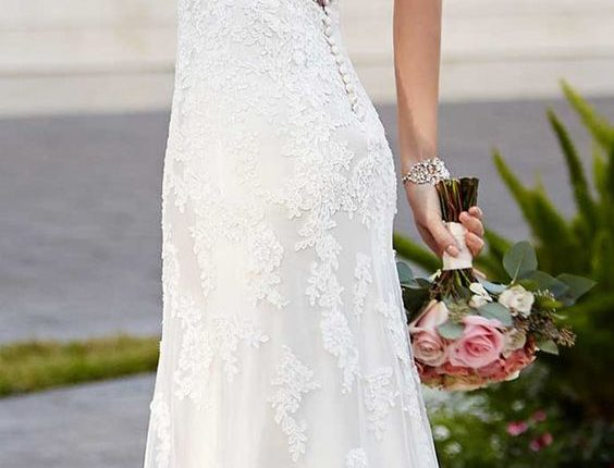 Wedding Dress by Stella York