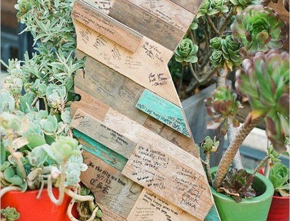 california woodcut guestbook