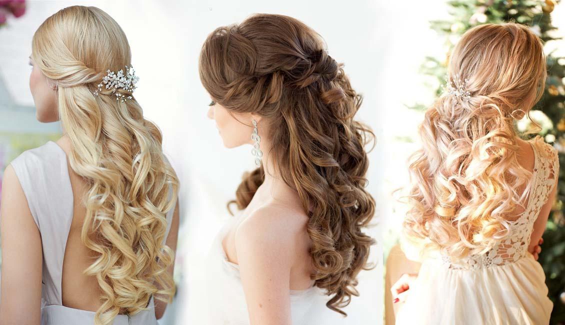 20 half up half down wedding hairstyles roses amp rings