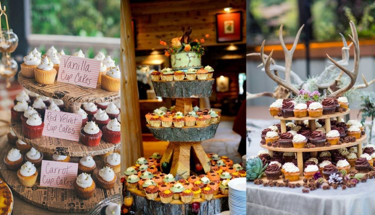 rustic fall wedding cupcake ideas
