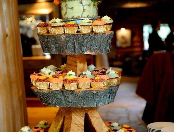 rustic wedding cupcake ideas