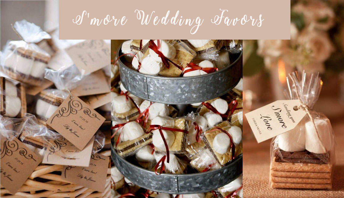 Top 20 rustic smore wedding favor ideas roses rings junglespirit Choice Image