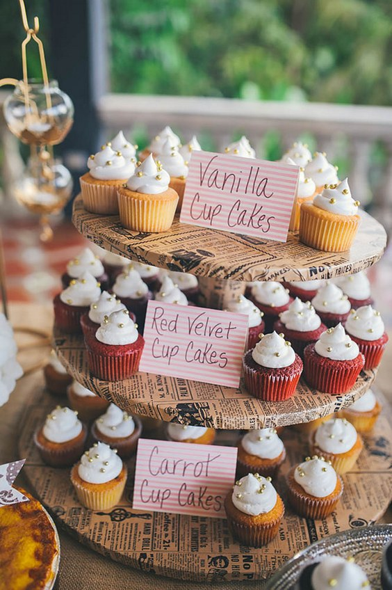 20 Best of Fall Wedding Cupcake Ideas | Roses & Rings