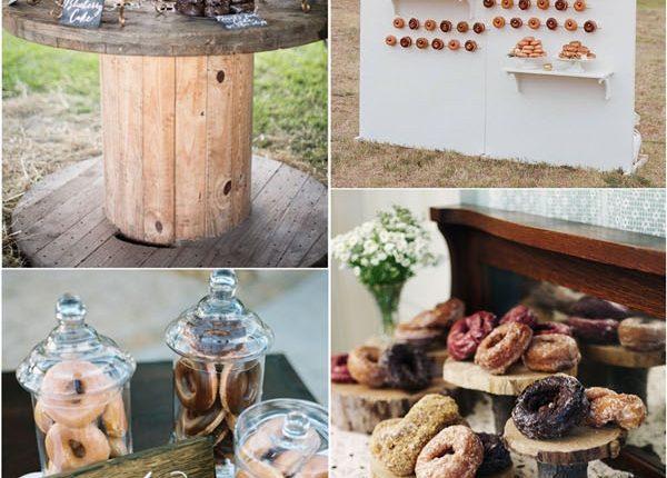 Donut Wedding Reception Ideas