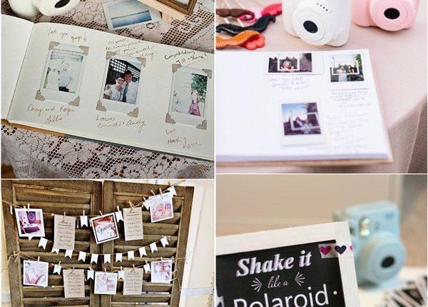 Unique Polaroid Wedding Guestbook Ideas