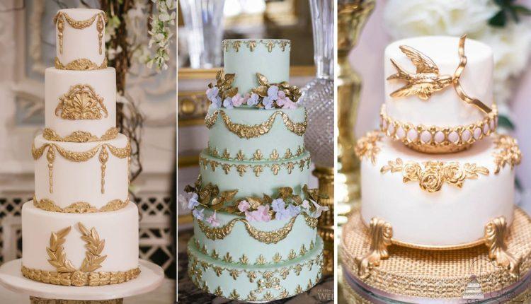 baroque wedding cake ideas