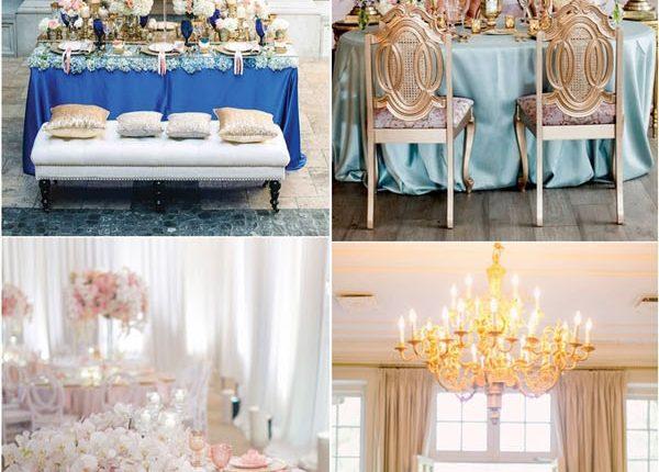 luxury wedding reception sweetheart table ideas