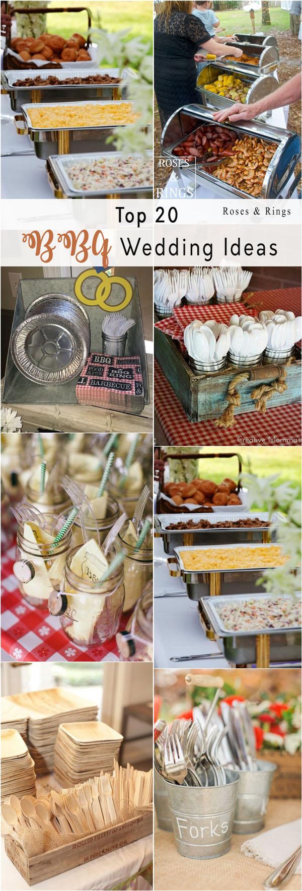 Backyard i do bbq wedding ideas