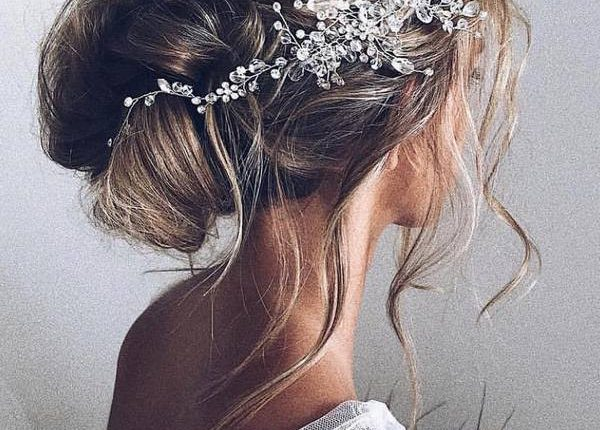 Ulyana Aster Long Wedding Hairstyles and Updos 2
