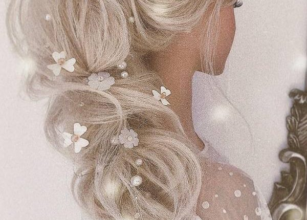 Ulyana Aster Long Wedding Hairstyles and Updos 20