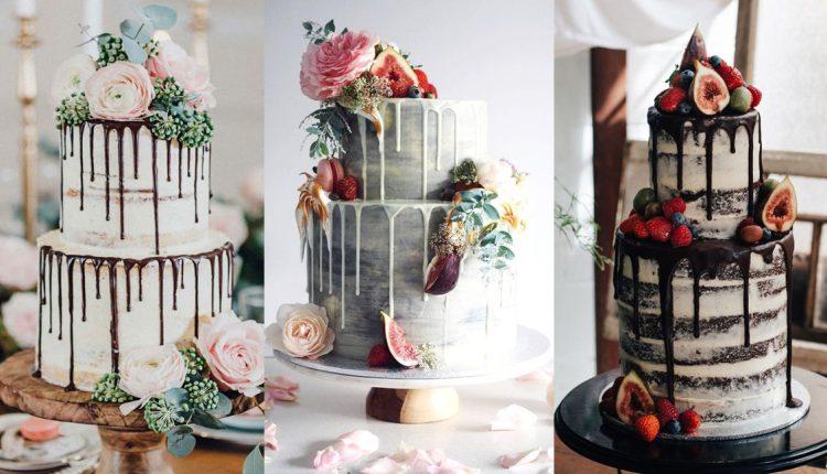 drip wedding cake ideas