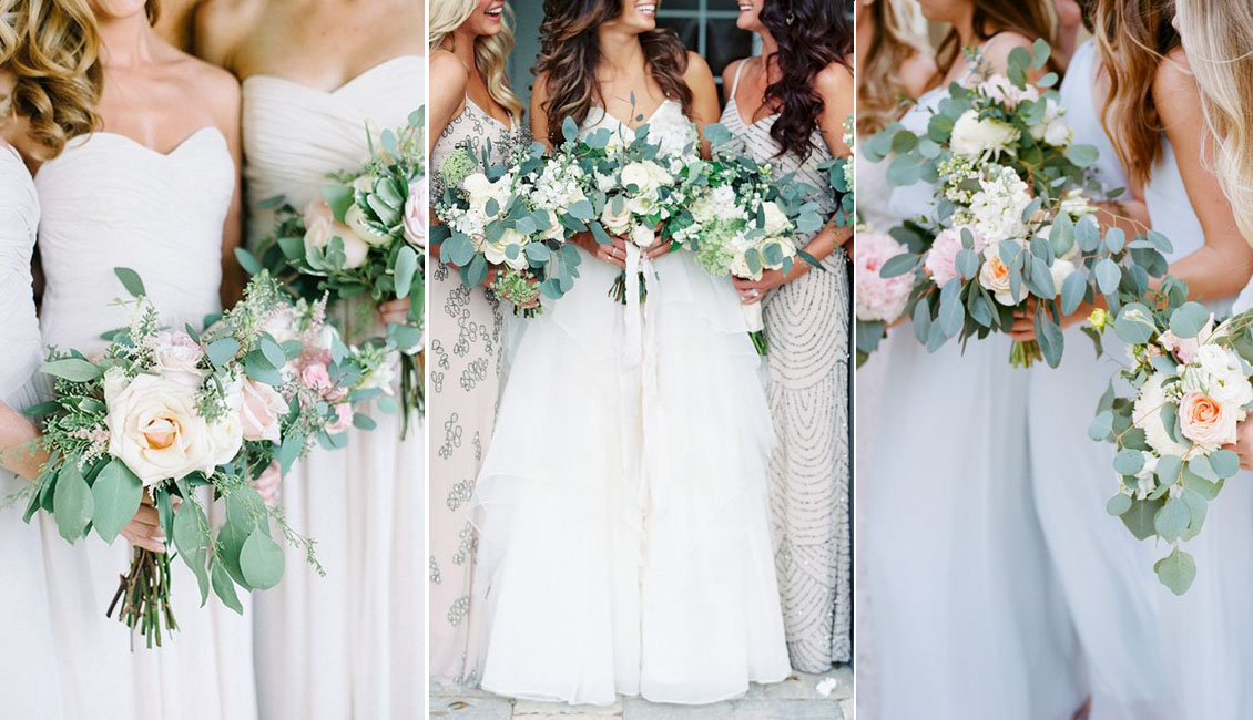20 Best Greenery Wedding Bouquets Roses Rings