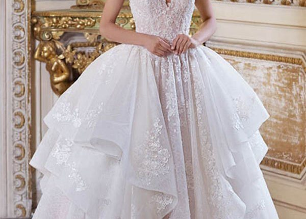 Demetrios 2019 Wedding Dress DP376_1