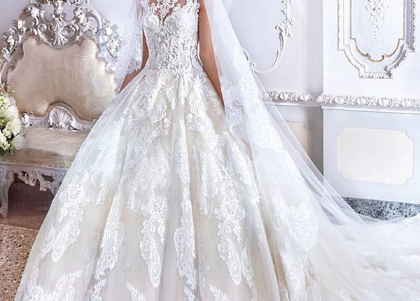 Demetrios 2019 Wedding Dress DP390_3