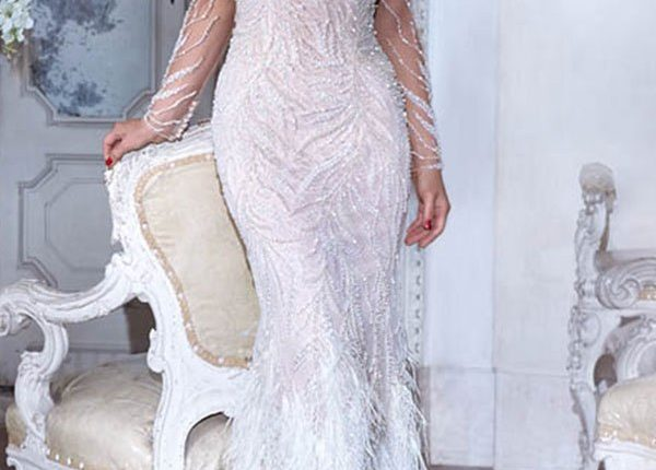 Demetrios 2019 Wedding Dress DP398_1