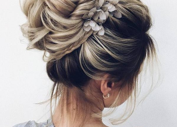 Long Wedding hairstyles and updos from xenia_stylist 10