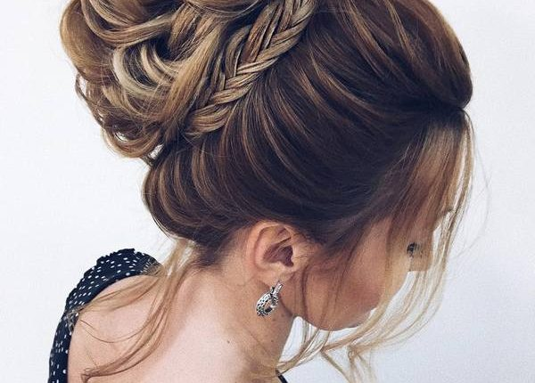 Long Wedding hairstyles and updos from xenia_stylist 15