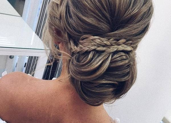 Long Wedding hairstyles and updos from xenia_stylist 21