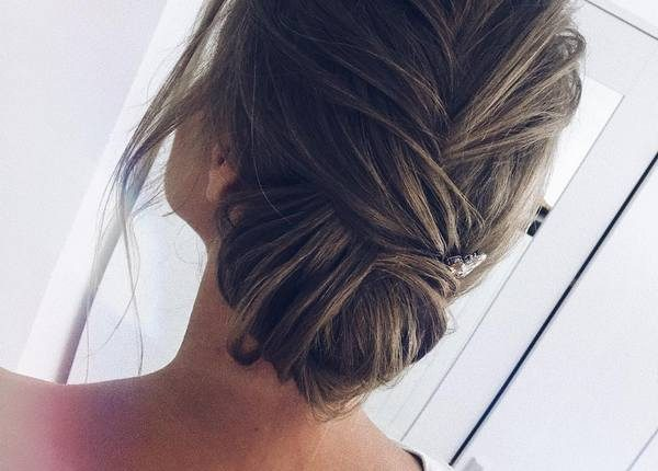 Long Wedding hairstyles and updos from xenia_stylist 25