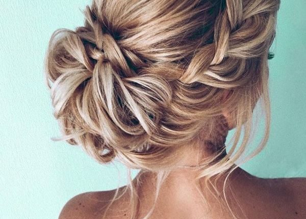 Long Wedding hairstyles and updos from xenia_stylist 26
