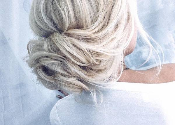 Long Wedding hairstyles and updos from xenia_stylist 27