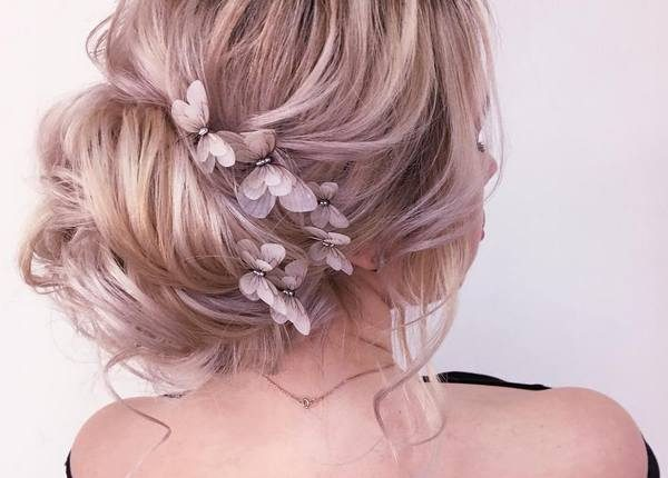 Long Wedding hairstyles and updos from xenia_stylist 28