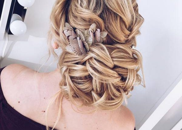 Long Wedding hairstyles and updos from xenia_stylist 6