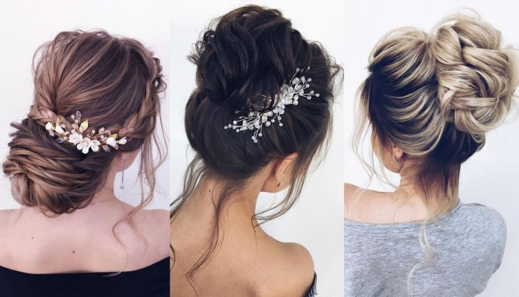 Long Wedding hairstyles and updos from xenia_stylist