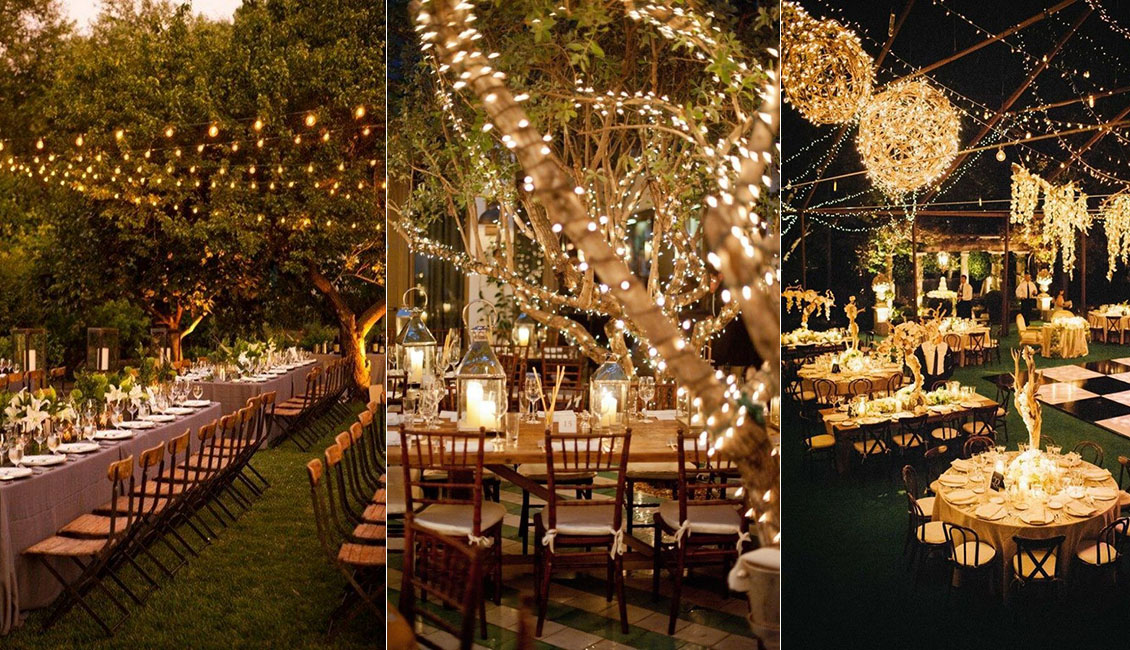 20 Breathtaking Wedding Reception Lighting Ideas You Can