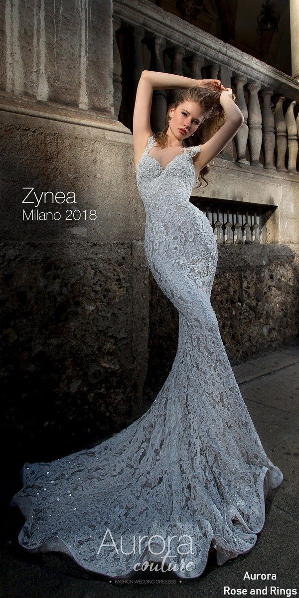 Mermaid lace wedding dress ZYNEA