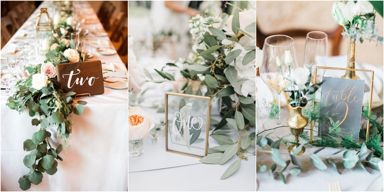 25 Chic Simple Wedding Table Number Ideas For 2020 Roses Rings