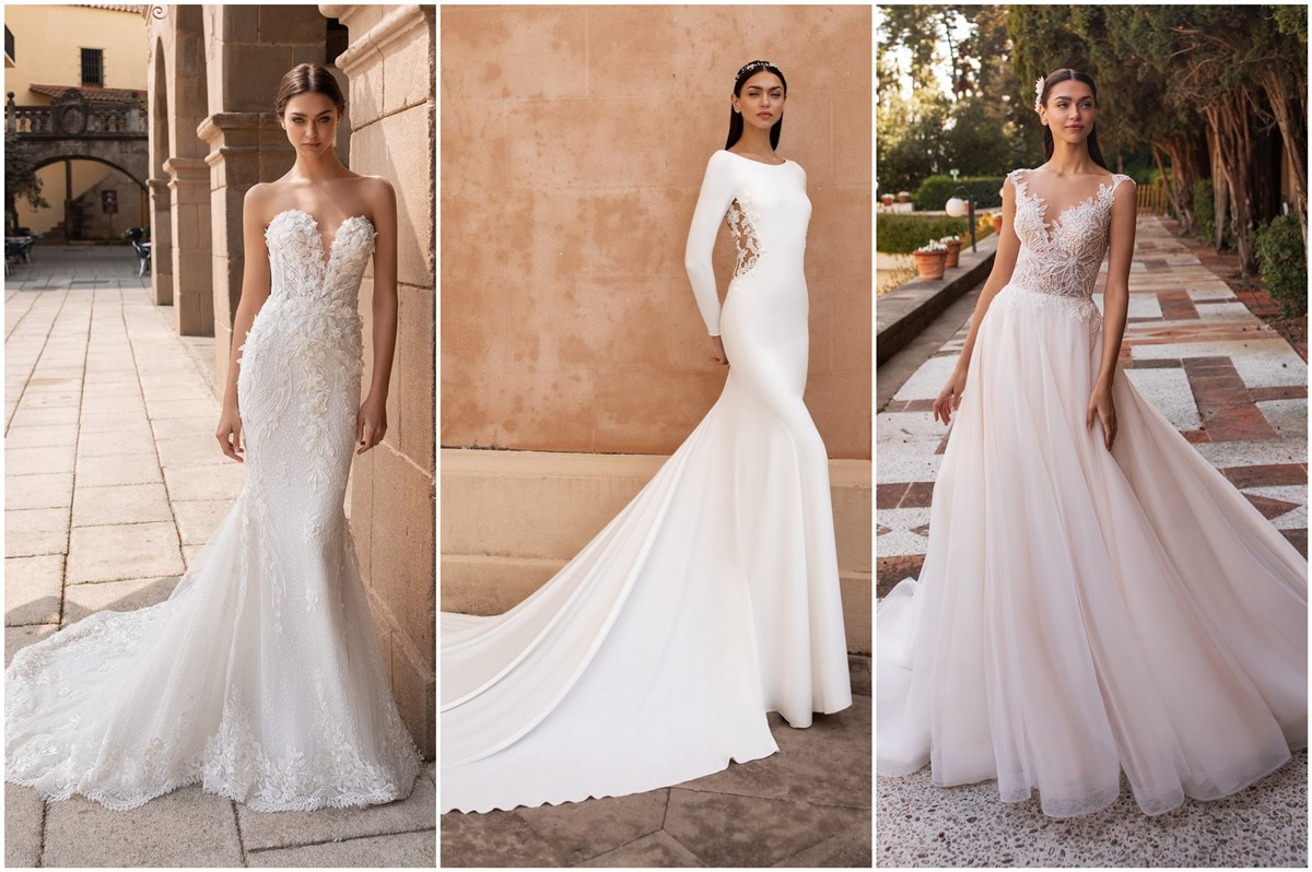 Pronovias Wedding Dresses 2020 Roses Rings