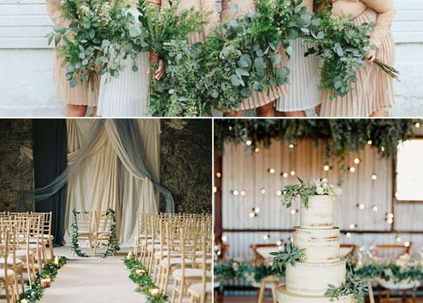 Trendy Greenery Wedding Ideas